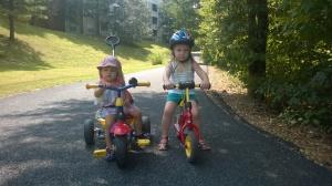 Zwei- und Dreiradgang